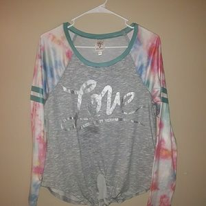 Self Esteem size m long sleeves top